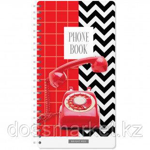 """Телефонная книга OfficeSpace """"Телефон"""", А5, 80 листов"""