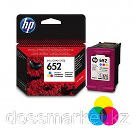 Картридж оригинальный HP F6V24AE №652 для DeskJet Ink Advantage 2135/3635/3775/4535/5275, цветной