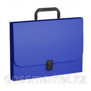 """Папка-портфель Erich Krause """"Classic"""", A4 формат, 1 отделение, синий"""