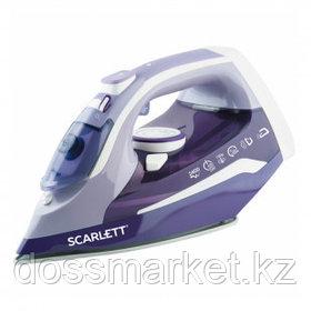 Утюг Scarlett SC-SI30K16, мощность 2400 Вт, резервуар 300 мл, керамическая подошва, фиолетовый