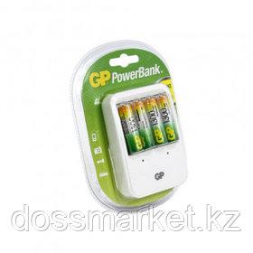 Устройство для зарядки аккумуляторов GP PowerBank, (AA и ААА), пальчиковые и мизинчиковые