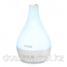 Увлажнитель воздуха Kitfort KT-2804, 900 мл, мощность 12 Вт, площадь помещения 20 м², белый