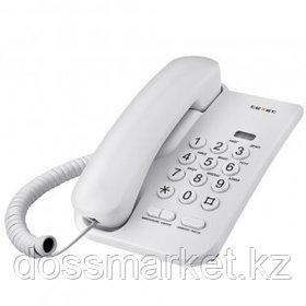 """Телефон проводной Texet """"TX-212"""", серый"""