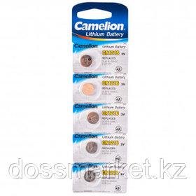 Батарейки Camelion Lithium дисковые CR1216-BP5, 3V, 5 шт., цена за упаковку