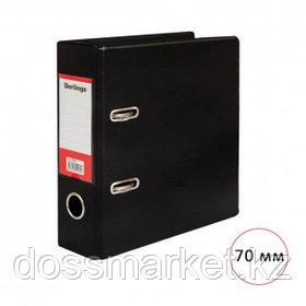 Папка-регистратор Berlingo, A5 формат, ширина корешка 70 мм, вертикальный, черная
