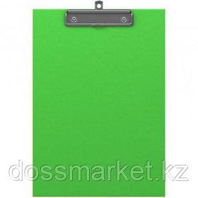Планшет А4 формата Erich Krause Neon, с верхним прижимом, зеленый