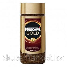 Кофе растворимый Nescafe Gold, 95 гр, стеклянная банка