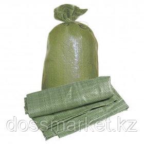 Мешок полипропиленовый, размер 550*950 мм, зеленый