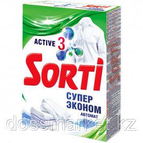 """Стиральный порошок Sorti Автомат """"Супер Эконом"""", 350 гр, картонная упаковка"""