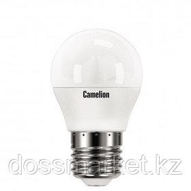 Лампа светодиодная Camelion LED8-G45/845/E27, 8 Вт, 4500К, нейтральный белый свет, E27, форма шар
