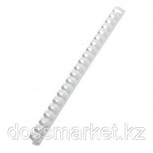 14 мм. Белые пружины для переплета, для сшивания 81-100 листов