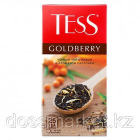 Чай Tess Goldberry, черный, фруктовый, 25 пакетиков
