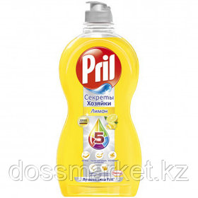 "Средство для мытья посуды Pril ""Лимон"", 450 мл"
