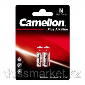 Батарейки Camelion Plus Alkaline, LR1-BP2, 1.5V, 2 шт./уп., цена за упаковку