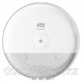 Диспенсер для мини-рулонной туалетной бумаги Tork, 219*219*156 мм, белый