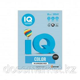 Бумага IQ Color Pale, А4, 80 г/м2, 500 листов, голубой лед