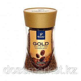 """Кофе растворимый Tchibo """"Gold Selection"""", 95 гр, стеклянная банка"""