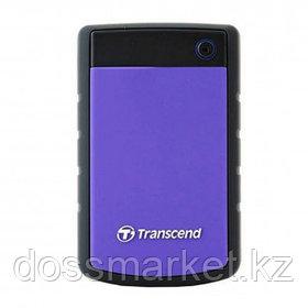 Жесткий диск 1 TB, Transcend ''StoreJet 25H3P'', USB 3.0, HDD, фиолетовый