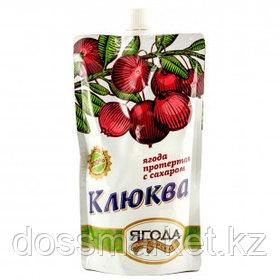 Клюква протертая с сахаром Sava, 280 гр