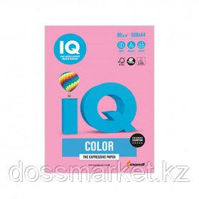 Бумага IQ Color Pale, А4, 80 г/м2, 500 листов, розовая