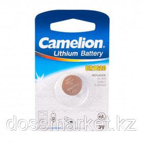 Батарейки Camelion Lithium дисковые CR1620-BP1, 3V, 1 шт., цена за штуку