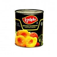 Персики Lorado, дольки, в сиропе, 425 мл