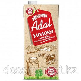 Молоко Adal, 950 мл, 3,2%, тетрапакет