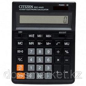 Калькулятор настольный Citizen SDC-444S, 12 разрядов, 199*153*31 мм