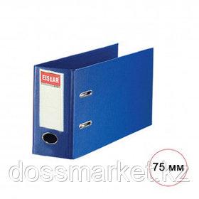 Папка-регистратор Eisear, А3, ширина корешка 75 мм, синяя