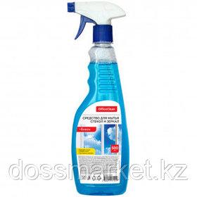 """Средство для мытья стекол и зеркал OfficeClean """"Блеск"""", с распылителем, 500 мл"""