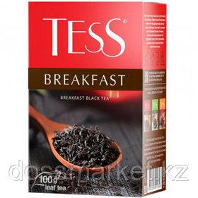 Чай Tess Breakfast, черный, 100 гр, листовой