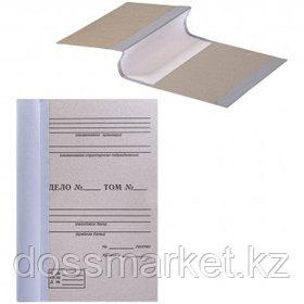 Папка архивная для переплета OfficeSpace, 100*215*305 мм, бурый