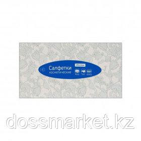 Салфетки OfficeClean, 2-х слойные, 100 шт., размер листа 20*20 см, в картонном боксе, белые