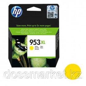 Картридж оригинальный HP 953XL для OfficeJet Pro 8730/7720/8218/7740/8210/8725/8720/8715, желтый