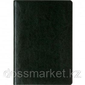 Ежедневник датированный Silvano, 2021 г., А5, 176 л., с золотым срезом, зеленый