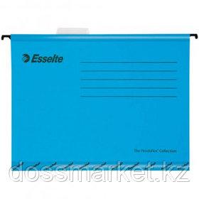 """Папка подвесная Esselte """"Pendaflex Plus Foolscap"""", А4+ формат, синяя"""