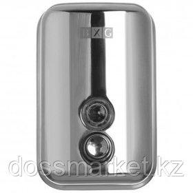 Диспенсер для жидкого мыла BXG SD-H1-500, нержавеющая сталь, механический, 500 мл, хром