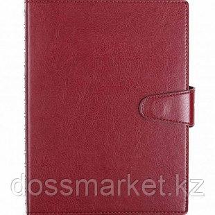 Ежедневник недатированный Misterio, А5, 176 л, бордовый