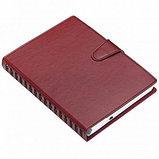Ежедневник недатированный Misterio, А5, 176 л, бордовый, фото 2