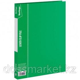 """Папка Berlingo """"Standard"""" с зажимом, А4 формат, корешок 17 мм, зеленая"""