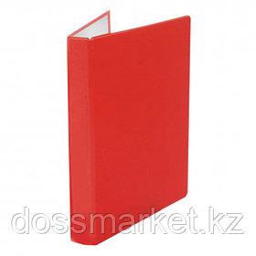 Папка Office-Expert, А4 формат, на 2 кольцах, корешок 40 мм, красная