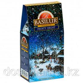 Чай Basilur Frosty Night, черный чай, 100 гр, листовой