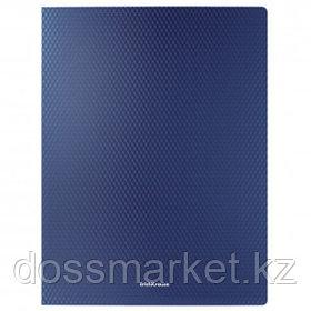 "Папка Erich Krause ""Diamond Original"", А4 формат, на 2 кольцах, корешок 24 мм, синяя"
