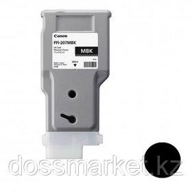 Тонер оригинальный Canon PFI-207MBK для imagePROGRAF-iPF680/685/780/785, матовый черный, 300 мл