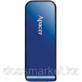 "USB-флешка 32 Gb, Apacer ""AH334"", USB 2.0, синяя"