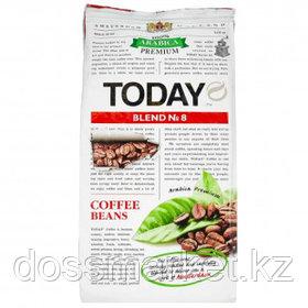 """Кофе в зернах Today """"Blend №8"""", средней обжарки, 200 гр"""