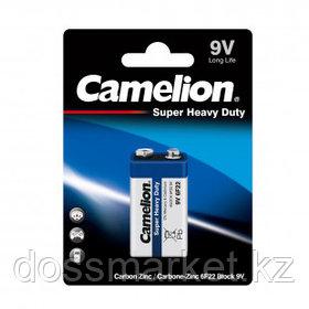 Батарейки Camelion Super Heavy Duty крона 6F22 BP1B, 9V, 1 шт., цена за штуку