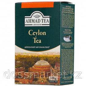 """Чай Ahmad """"Ceylon Tea OP"""", черный, 100 г, листовой"""