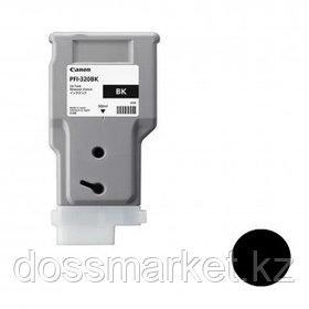 Картридж оригинальный Canon PFI-320BK imagePROGRAF TM-200/205/300/305, черный, 300 мл