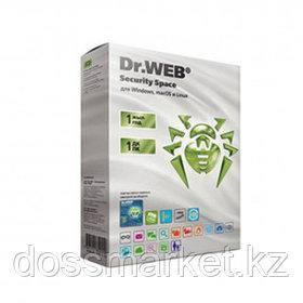 Антивирус Dr.Web Security Space, 1 устройство, подписка на 1 год